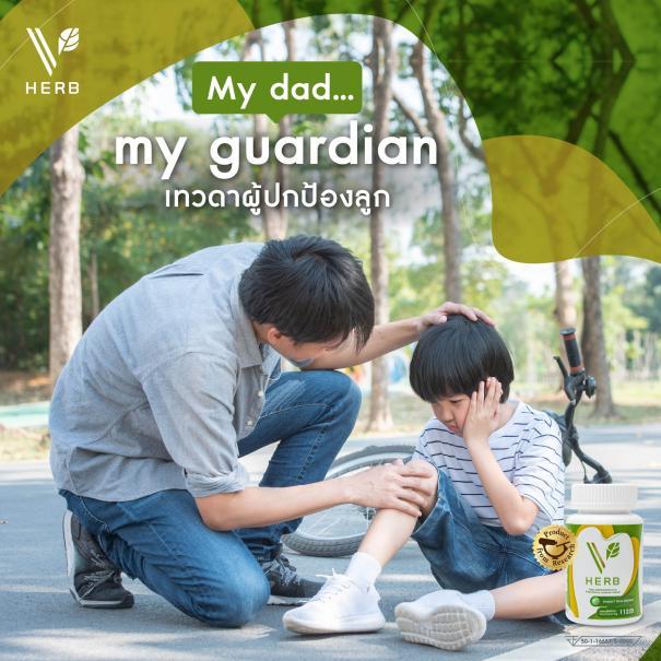 <strong>เสริมสร้างภูมิคุ้ม</strong>กันให้<strong>พ่อ</strong>เรา ด้วย v herb #5