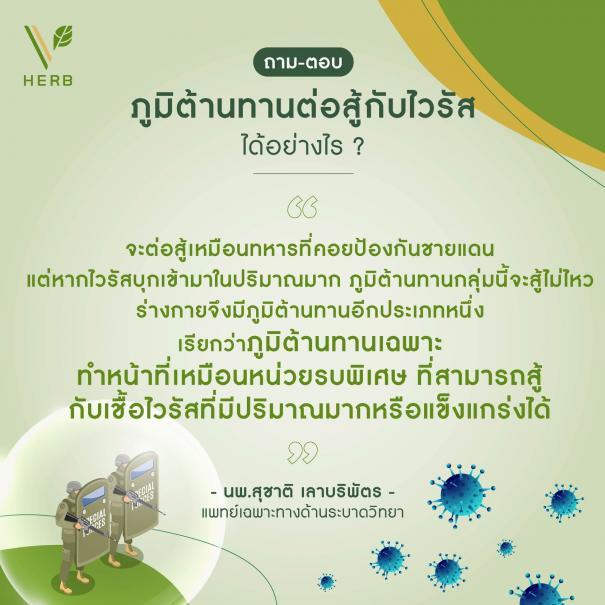 ไขข้อข้องใจ สร้างภูมิสู้ไวรัส #5