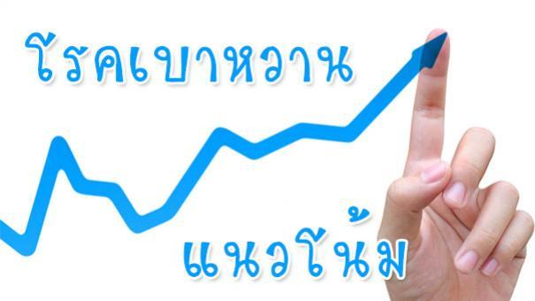 แนวโน้ม จำนวนผู้ป่วย<strong>เบาหวาน</strong> #1