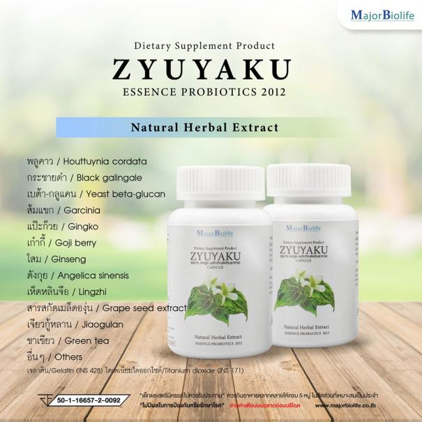 <strong>ซุยยากุ แคปซูล</strong> <strong>Zyuyaku capsules</strong> #6