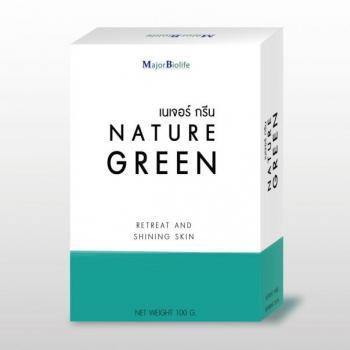 nature green soap สบู่เนเจอร์กรีน