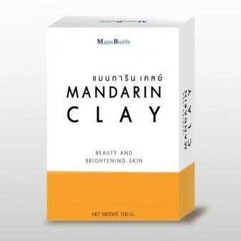 Mandarin Clay soap สบู่แมนดารินเคลย์